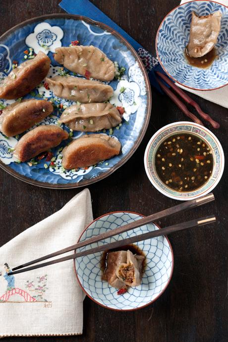 A beautiful spread of dumplings, by Local Kitchen.