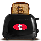 "Ok, so this is all i got when I googled  ""St. Louis Cardinals cooking.""  Seriously though...Double S?  I need this toaster!"