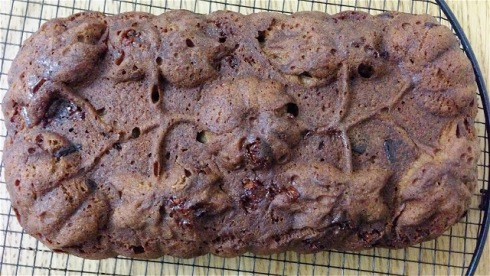 Chocolate Banana Bread, by Tea Time Adventures