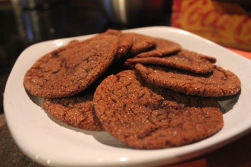 Old Fashioned Molasses Cookies with Fresh Ginger, by Grow and Resist